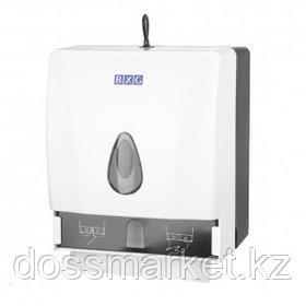 Диспенсер для бумажных полотенец BXG PDM-8218, V-укладка, пластик, бело-серый