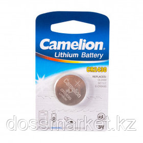 Батарейки Camelion Lithium дисковые CR2430-BP1, 3V, 1 шт., цена за штуку