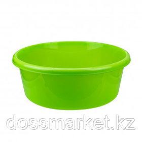 Таз круглый без крышки Idea, 11 литров, ярко-зеленый
