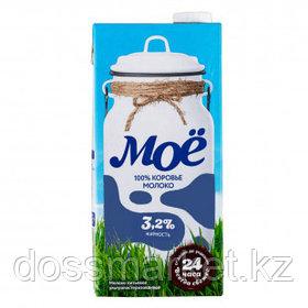 Молоко Моё, 950 мл, 3,2%, тетрапакет