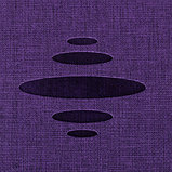 """Ежедневник недатированный Berlingo """"Color Zone"""", A5, 136 л., с резинкой, фиолетовый, фото 3"""