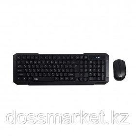 Беспроводной набор X-Game XD-7700GB, клавиатура и оптическая мышь, каз/рус/анг, черный