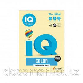 Бумага IQ Color Pale, А4, 80 г/м2, 500 листов, желтая