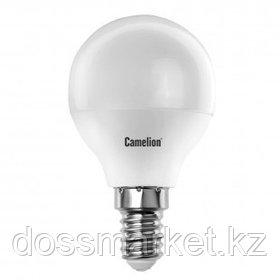 Лампа светодиодная Camelion LED7-G45/830/E14, 7 Вт, 3000К, теплый белый свет, E14, форма шар