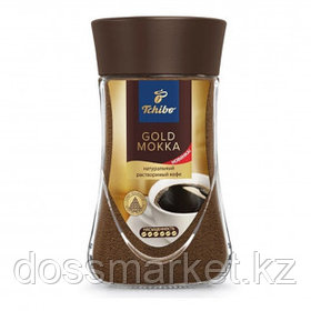 """Кофе растворимый Tchibo """"Gold Mokka"""", 95 гр, стеклянная банка"""