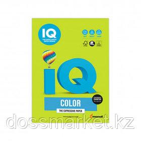 Бумага IQ Color Intensive, А4, 80 г/м2, 500 листов, зеленая липа