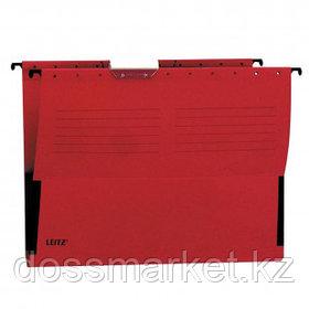 """Папка подвесная Leitz """"L-19860125 ALFA"""", А4 формат, красная"""