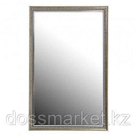 """Зеркало Континент """"Макао"""", в багетной раме, серебро, размер 450*700 мм"""