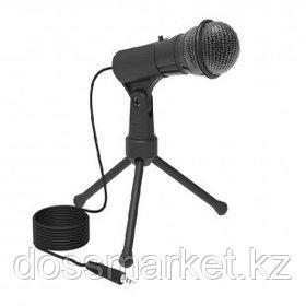 Микрофон настольный Ritmix RDM-120, 1,8 м, черный