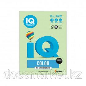 Бумага IQ Color Pale, А4, 80 г/м2, 500 листов, зеленая