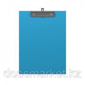 Планшет А4 формата Erich Krause Neon, с верхним прижимом, голубой