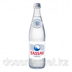 """Вода негазированная питьевая """"Tassay"""", 0,5 л, стеклянная бутылка"""
