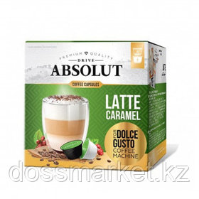"""Кофе в капсулах Живой Кофе """"Латте Макиато со вкусом карамели"""", для кофемашин Dolce Gusto, 8 капсул"""