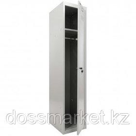 """Шкаф индивидуальный Промет """"Практик ML 11-40"""" (базовый модуль), 1 секция, 400*500*1830 мм, серый"""