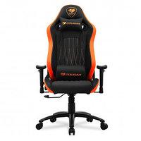 Игровое компьютерное кресло Cougar EXPLORE, искусственная кожа, черно-оранжевый