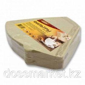 Фильтры для кофеварки капельного типа Konos4, бумажные, неотбеленные, 100 шт, в пленке