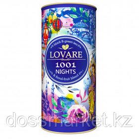 "Чай Lovare ""1001 ночь"", ассорти, 80 гр, листовой, тубус"