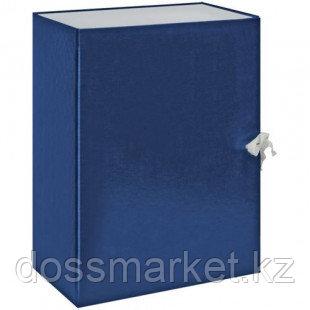 Архивный короб OfficeSpace, 130*240*320 мм, вместимость 1000 листов, с завязками, ассорти