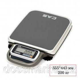 Весы напольные CAS PB-200, электронные, максимальная нагрузка 200 кг
