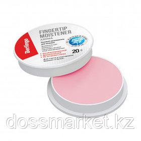Увлажнитель гелевый для пальцев антибактериальный Berlingo, 20 грамм, розового цвета