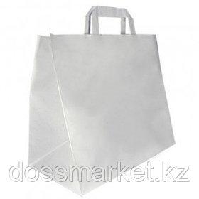 Пакет-сумка бумажная, прочная, размер 32*27 см