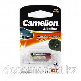 Батарейки Camelion Plus Alkaline A27-BP1 LR27А, 12V, 1 шт., цена за штуку
