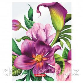 """Папка Erich Krause """"Tropical Flowers"""" с зажимом, A4 формат, корешок 17 мм, цветной"""