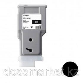 Тонер оригинальный Canon PFI-207BK для imagePROGRAF-iPF680/685/780/785, черный, 300 мл