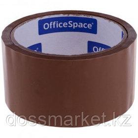 Упаковочная клейкая лента OfficeSpace, ширина ленты 48 мм, длина намотки 40 м, коричневая