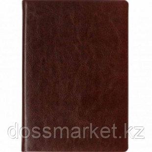 Ежедневник недатированный Silvano, А5, 176 л, с золотым срезом, бордовый