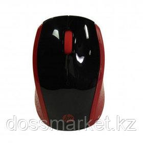 Мышь беспроводная HP 200, USB, 3 кнопки, 1000 dpi, оптическая, красная