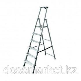 Стремянка алюминиевая Safety 6S, 6 ступеней, рабочая высота 325 см