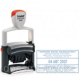 Датер Trodat 5460, высота шрифта 4 мм, металлический