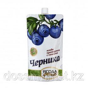 Черника протертая с сахаром Sava, 280 гр