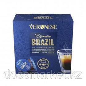 """Кофе в капсулах Veronese """"Espresso Brazil"""" для кофемашин Dolce Gusto, 10 капсул"""