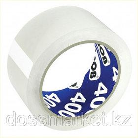 Упаковочная клейкая лента Unibob, ширина ленты 48 мм, длина намотки 66 м, толщина 40 мкм