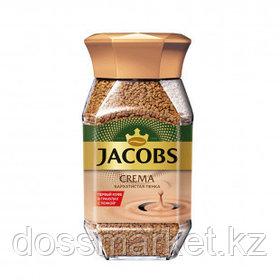 Кофе растворимый Jacobs Crema, 95 гр, стеклянная банка