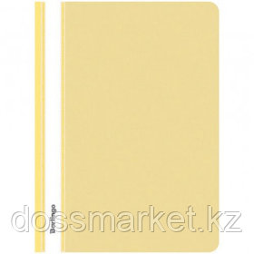 Папка-скоросшиватель Berlingo, А4 формат, 180 мкм, желтая