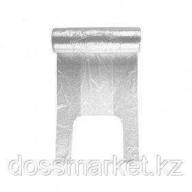 Пакет в рулоне с ручкой, 41*25 см, 250 шт, прозрачный