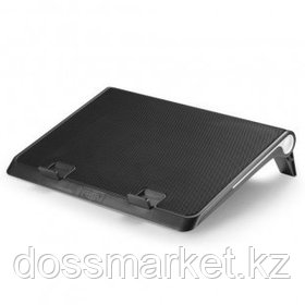 "Подставка для ноутбука DeepCool ""N180 FS"", USB хаб + 2 USB порта, 17"", черная"