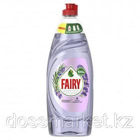 "Средство для мытья посуды Fairy Pure&Clean ""Лаванда и розмарин"", 650 мл"