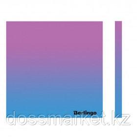 """Блок самоклеящийся 75*75 мм, Berlingo """"Ultra Sticky. Radiance"""", градиент, розовый/голубой, 50 листов"""
