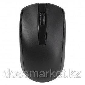 Мышь беспроводная Genius ECO-8100, USB, 3 кнопки, 800-1600 dpi, оптическая, черная