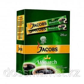 Кофе растворимый Jacobs Monarch, 26 пакетиков