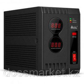 Стабилизатор SVC AVR-2000, 2000ВА(2000Вт), черный