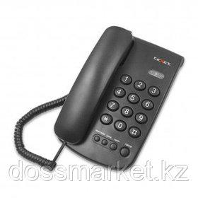 """Телефон проводной Texet """"TX-241"""", черный"""