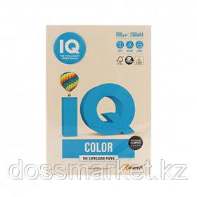 Бумага IQ Color Pale, А4, 160 г/м2, 250 листов, кремовая