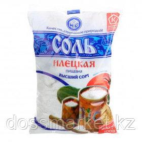"""Соль """"Илецкая"""", поваренная йодированная, 1 кг"""