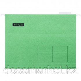 Папка подвесная OfficeSpace, А4 формат, зеленая