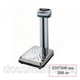 Весы напольные CAS DL-200 N, электронные, максимальная нагрузка 200 кг